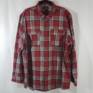 Oakley Regular Fit Flannel Shirt